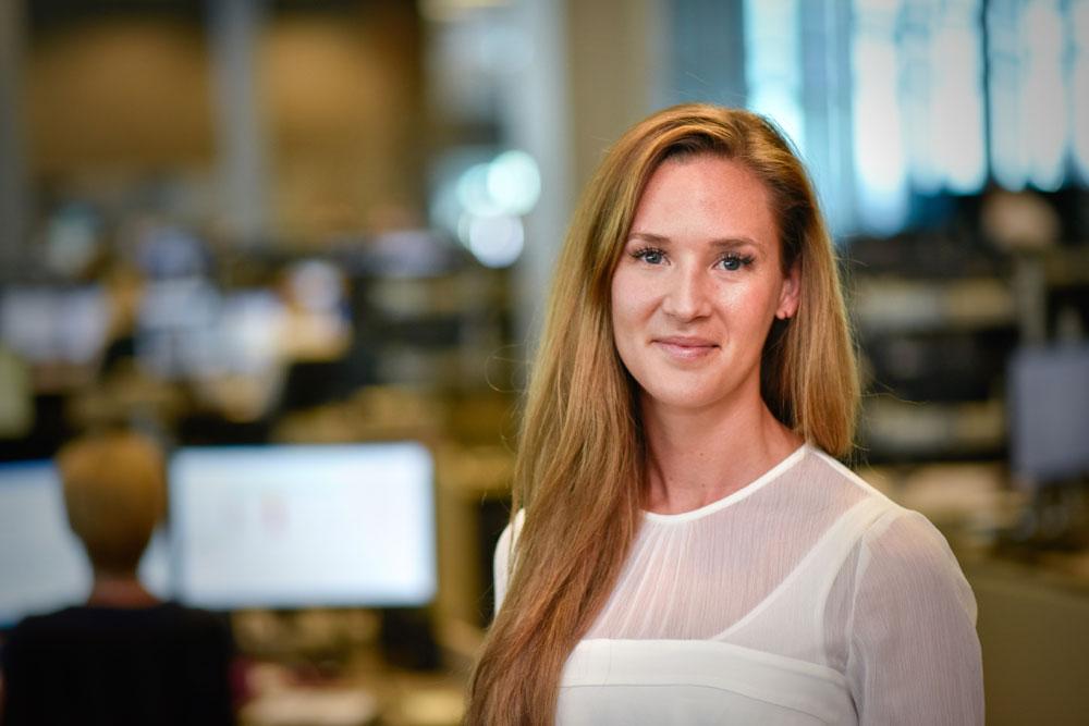 Jeanette Strøm Fjære: – Sannsynligheten for at Norges Bank setter renten ned i mars har definitivt økt etter dagens tall. (Foto: DNB)