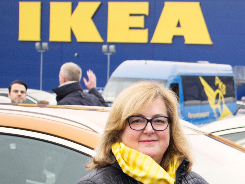 Clare Rodgers: – Hver eneste medarbeider teller og har en innvirkning på IKEAs vekst. (Foto: Johan Nord)