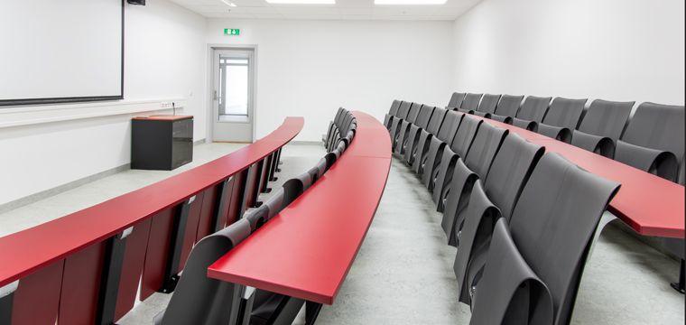 ForaForms auditoriumsystem Beseated blir eksponert på messen.