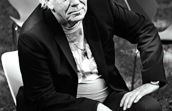 Øyvind Iversen under relanseringen i 2007